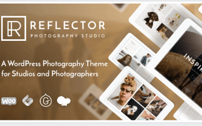Download Reflector WordPress Photography Theme for Studios