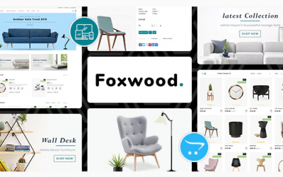 Foxwood - Opencart 3 Furniture Responsive Theme Nulled