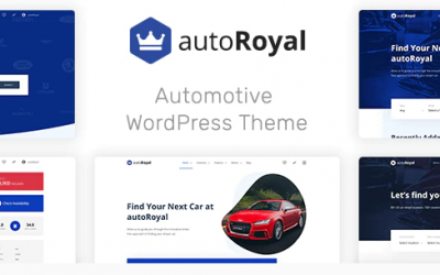 autoRoyal - Automotive WordPress Theme Nulled