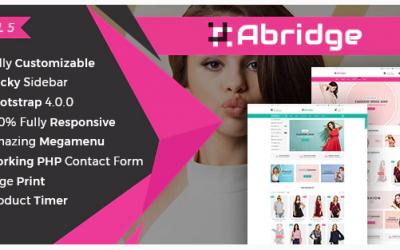 Abridge- Responsive Multipurpose E-Commerce HTML5 Template Nulled