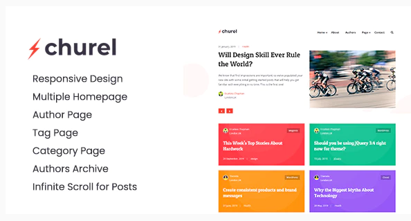 Download Churel – Modern and Powerful Jekyll Blog Theme Nulled