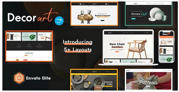 Decor Art – Opencart Multi-Purpose Responsive Theme Nulled