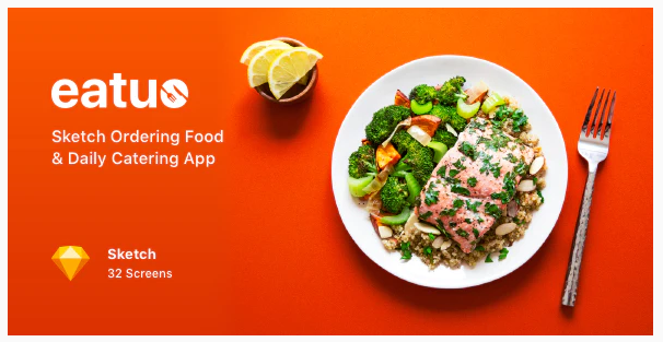 Eatuo - Sketch Ordering Food & Daily Catering App Nulled