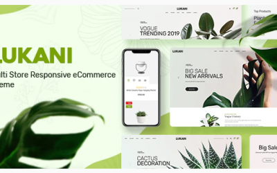 Lukani - Plant Store Theme for WooCommerce WordPress Nulled