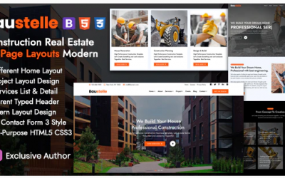 Baustelle - Construction Real Estate Multi Purpose Nulled