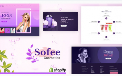 Sofee - Cosmetic Shopify Theme Nulled