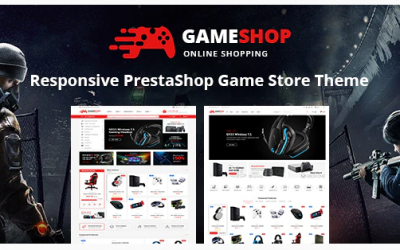 Gameshop - Responsive PrestaShop Shopping Themes Nulled
