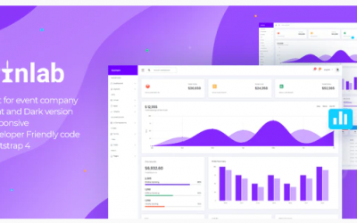 PinLab - Bootstrap Admin Dashboard Nulled