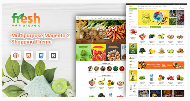 Download Fresh – Multipurpose Responsive Magento 2 Theme Nulled