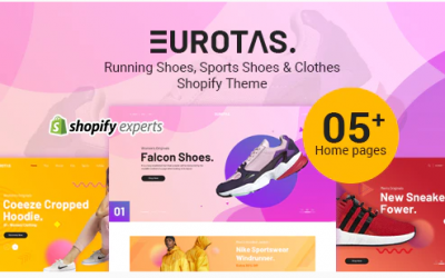 Eurotas – Running Shoes, Sports Shoes & Clothes Shopify Theme Nulled