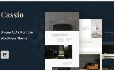 Cassio – AJAX Portfolio WordPress Theme Nulled