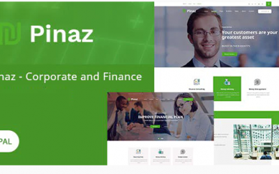 Pinaz - Business & Agency Drupal 8 Theme Nulled