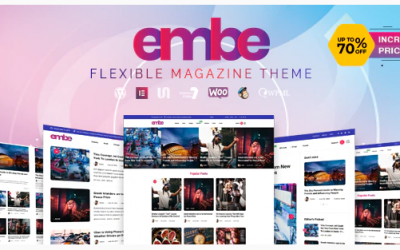 EmBe - Flexible Magazine WordPress Theme Nulled