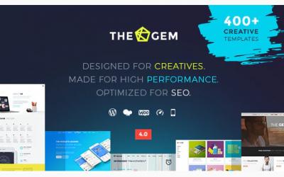 TheGem - Creative Multi-Purpose High-Performance WordPress Theme Nulled