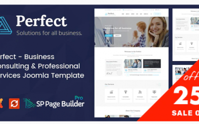 Perfect - Consulting Business Joomla Template Nulled
