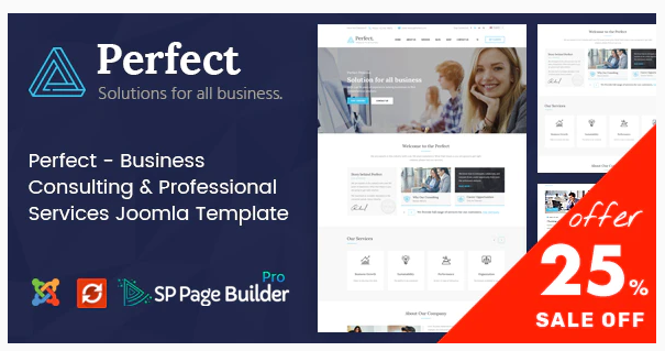 Download Perfect – Consulting Business Joomla Template Nulled