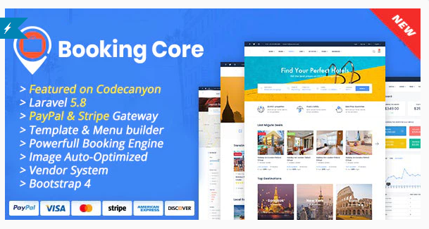 Booking Core - Ultimate Booking System Nulled