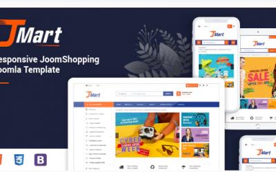 JMart - Multipurpose JoomShopping eCommerce Joomla Template Nulled
