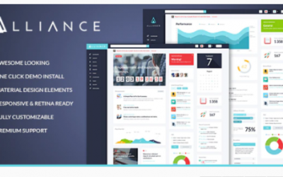Alliance | Intranet & Extranet WordPress Theme Nulled