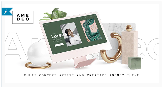 Download Amedeo – Multi-concept Artist and Creative Agency Theme Nulled