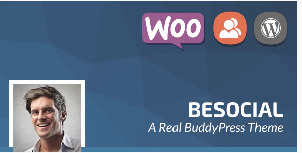 Download Besocial – BuddyPress Social Network & Community WordPress Theme Nulled
