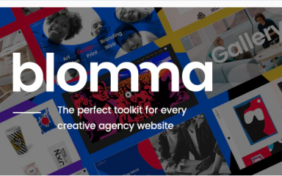 You are downloading Blomma - Creative Agency Portfolio Theme whose current version has been getting more updates nowadays, so, please keep