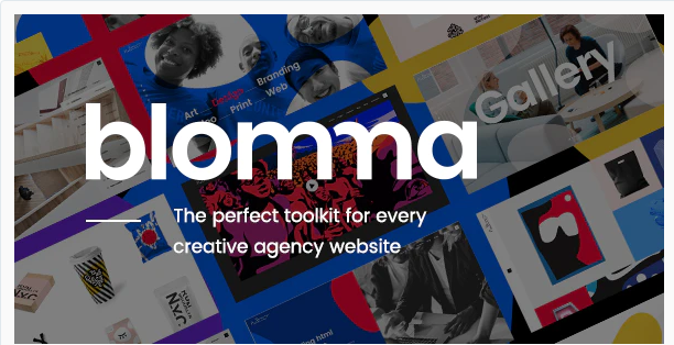 Download Blomma – Creative Agency Portfolio Theme Nulled