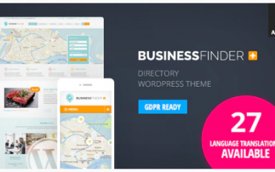You are downloading Business Finder: Directory Listing WordPress Theme whose current version has been getting more updates nowadays, so, pleas