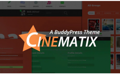 You are downloading Cinematix - BuddyPress Community Theme whose current version has been getting more updates nowadays, so, please