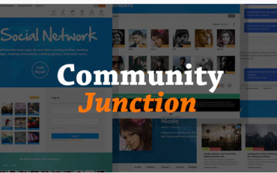 You are downloading CommunityJunction - BuddyPress Membership Theme whose current version has been getting more updates nowadays, so, please