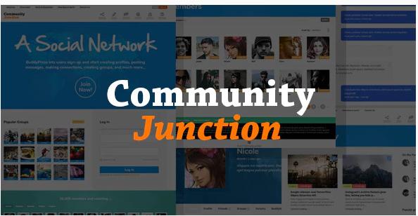 Download CommunityJunction – BuddyPress Membership Theme Nulled