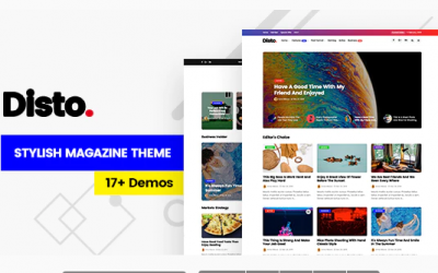 You are downloading Disto - WordPress Blog Magazine Theme whose current version has been getting more updates nowadays, so, please