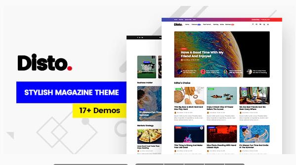 Download Disto – WordPress Blog Magazine Theme Nulled