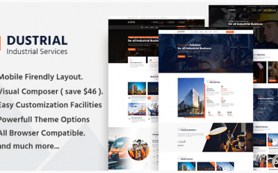 You are downloading Dustrial - Factory & Industrial WordPress Theme whose current version has been getting more updates nowadays, so, please
