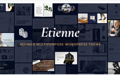 You are downloading Etienne - Multipurpose Business & Agency Theme whose current version has been getting more updates nowadays, so, please