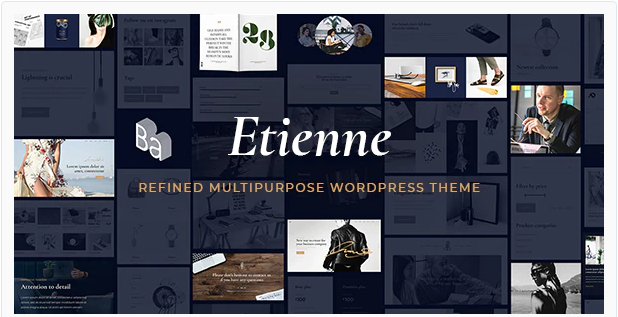 Download Etienne – Multipurpose Business & Agency Theme Nulled
