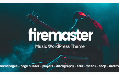 You are downloading Firemaster - A Creative Music WordPress Theme whose current version has been getting more updates nowadays, so, please