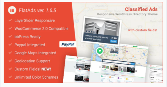 Download FlatAds – Classified Ads WordPress Theme Nulled