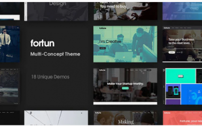 You are downloading Fortun | Multi-Concept WordPress Theme whose current version has been getting more updates nowadays, so, please