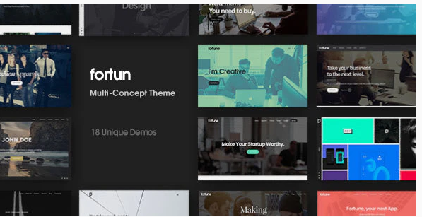 Download Fortun | Multi-Concept WordPress Theme Nulled
