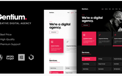 You are downloading Gentium – A Creative Digital Agency WordPress Theme whose current version has been getting more updates nowadays, so, please