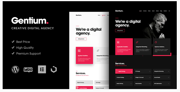 You are downloading Gentium – A Creative Digital Agency WordPress Themewhose current version has been getting more updates nowadays, so, please