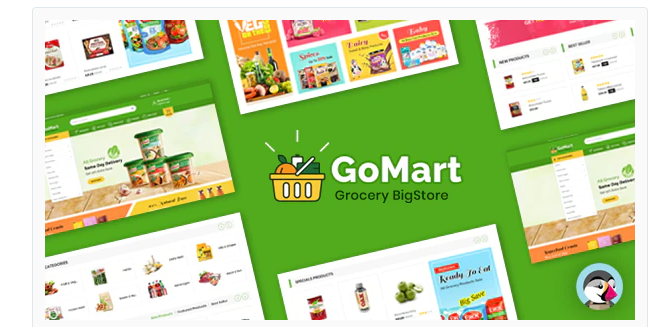 Download Gomart Grocery BigStore Prestashop 1.7 Theme Nulled