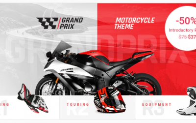 You are downloading GrandPrix - Motorcycle WordPress Theme whose current version has been getting more updates nowadays, so, please