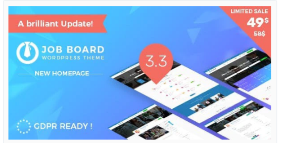 Download InJob   Multi features for recruitment WordPress Theme Nulled