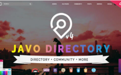You are downloading javo Directory WordPress Theme whose current version has been getting more updates nowadays, so, please keep visiting