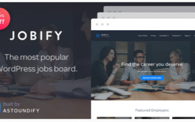 You are downloading Jobify - Job Board WordPress Theme whose current version has been getting more updates nowadays, so, please keep visiting