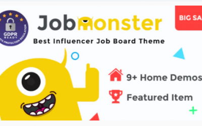 You are downloading Jobmonster - Job Board WordPress Theme whose current version has been getting more updates nowadays, so, please