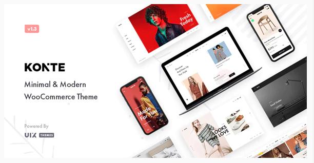 Download Konte – Minimal & Modern WooCommerce WordPress Theme Nulled