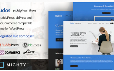 You are downloading Kudos BuddyPress Theme whose current version has been getting more updates nowadays, so, please keep visiting for getting